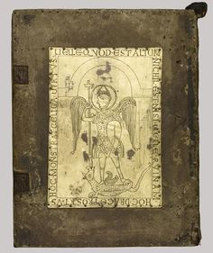 Full Size: Binding for the Mondsee Gospels and Treasure Binding with the Evangelists and Crucifixion