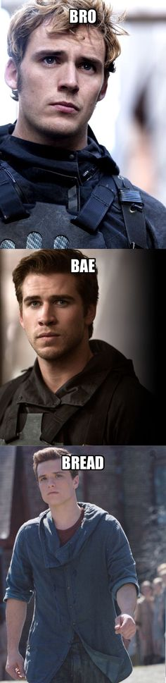 The three b's of The Hunger Games (But I don't like gale)