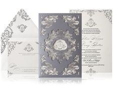 Glamorous Wedding Invitation Ideas for Discerning Brides - MODwedding...Atelier Isabey New York