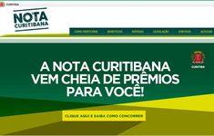 Entra no ar site do Nota Curitibana. Veja como concorrer a R$ 230 mil em prêmios por mês - Álbum - Prefeitura de Curitiba