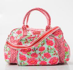 Lots of lovelies from Lou Harvey's latest collection Lunch Box Cooler, Red Turquoise, Gorgeous Fabrics, Material Girls, Cosmetic Bag, Diaper Bag, Gym Bag, Handbags, Wallet