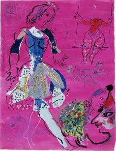 L'exposition   Exposition Marc Chagall : Le Triomphe de la musique - Galerie-atelier La Petite Boîte à Chagall   Philharmonie de Paris