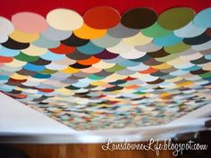 DIY Paint Chip Projects - so cool