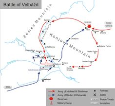Battle of Velbuzd 28. 7. 1330.