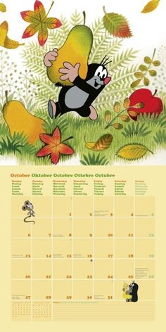 10 - The Little Mole Calendar 10 – Der kleine Maulwurf Kalender 2014 10 – The Little Mole Calendar 2014 -