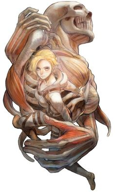 The deadly female titan, Annie Leonhardt