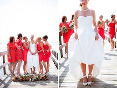 Dock wedding party photos. Minneapolis wedding photographer. Dana J Photography. mn weddings.  www.danajphoto.com