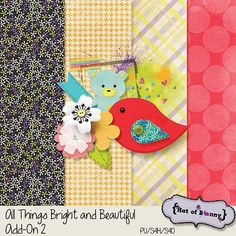 All Things Bright and Beautiful 2 mini kit freebie from Hat of Bunny
