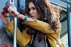 Sete semanas após nascimento do filho, Megan Fox volta ao set de 'Tartarugas Ninjas' >> http://glo.bo/1ihxKA8