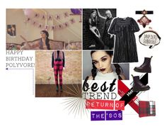 """what can i say, i was born in 1977"" by meadowbat ❤ liked on Polyvore featuring Benetton, Sophia Webster, Isabel Marant, Dr. Martens, Comme des Garçons, Erickson Beamon, polyversary and contestentry"