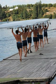Derek rowed crew in college, and it solidified his love of the water.