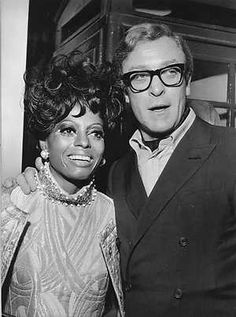 Diana Ross + Michael Caine | London January 29, 1968