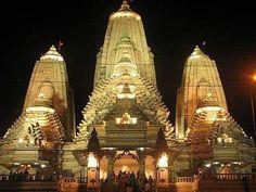 Birla Mandir in Kolkata, India, is a Hindu temple on Asutosh Chowdhury Avenue, Ballygunge, built by the industrialist Birla family.
