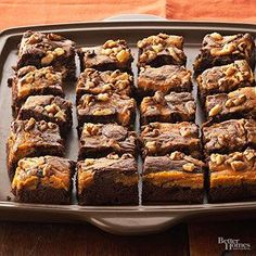 If you've never tried pumpkin and chocolate together, give the duo a go in this…