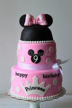 Minnie Princess Cake