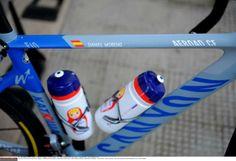 May 13, Stage 4: Giovinazzo - Bari 112km - Babushka doll bidons for Dani Moreno