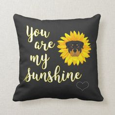 You are my Sunshine, Rottweiler Throw Pillow rottweiler funny, rottweiler in snow, pitbull rottweiler mix puppies #rottweilerpuppies #rottweilersofficial #rottweilertales, dried orange slices, yule decorations, scandinavian christmas Rottweiler Mix Puppies, Rottweiler Funny, Dachshund Quotes, Dachshund Shirt, Dachshund Drawing, Black Dachshund, Dachshund Gifts, Mini Dachshund, Dachshund Puppies
