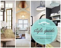 Style Guide: Modern Farmhouse, S.2