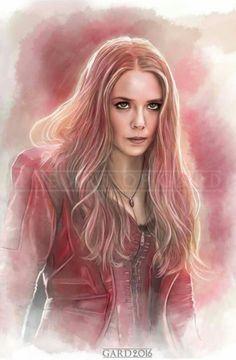Wanda Maxinoff aka Scarlet Witch