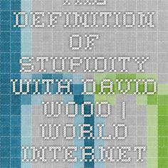 The Definition Of Stupidity With David Wood | World Internet School.Com