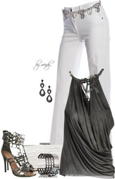 """""""Chains & studs contest"""" by wendyfer ❤ liked on Polyvore"""