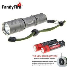 Outdoor Home XM-L2 U2 LED Cool White 988lm Flashlight w/ 18650 Battery + Knife Tool Set (1 * 18650). Find the cool gadgets at a incredibly low price with worldwide free shipping here. FandyFire XM-L2 988lm 5-Mode Aluminum Tactical Flashlight Kit - Grey, 18650 Flashlights, . Tags: #Lights #Lighting #Flashlights #LED #Flashlights #18650 #Flashlights