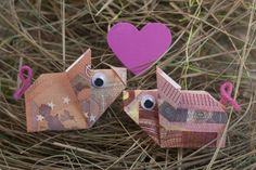 Viel Glück Schwein … – Origami Community : Explore the best and the most trending origami Ideas and easy origami Tutorial Homemade Gifts, Diy Gifts, Don D'argent, Diy And Crafts, Paper Crafts, Ideias Diy, Birthday Presents, Creative Gifts, Little Gifts