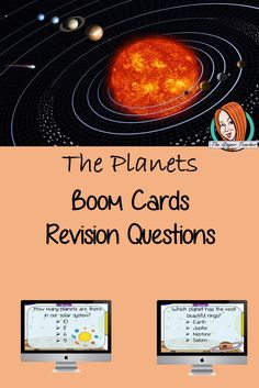 The Planets Revision Questions This deck revises children's knowledge of The Plants. There are multiple choice revision questions to check children's understanding. These question cards are self-grading and lots of fun! A Classroom, Classroom Resources, Teacher Resources, All About Me Crafts, Role Play Areas, Our Solar System, Multiple Choice, Primary School, Lesson Plans