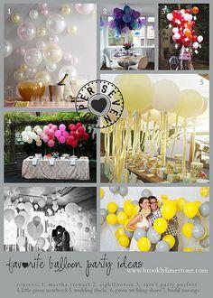 Fun ballon ideas     super7balloons by MrsLimestone, via Flickr
