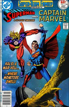 Super-Team Family: The Lost Issues!: Superman and Captain Marvel (...Where Monsters Dwell!)