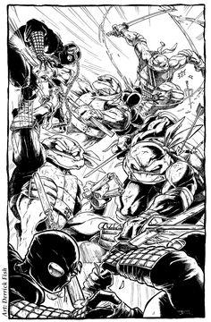 Teenage Mutant Ninja Turtles by ~derrickfish