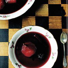 Rezept von Mimi Thorisson: Birnen in Rotweinsirup