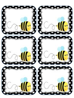 Cute bee tabs @Brooke Beasley heard you have a bee theme. Thought you might like these! :)