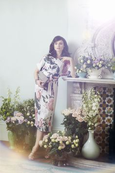 Sophie Ellis-Bextor showcases our SS15 range of beautiful dresses in a garden colour palette of blush pinks, vibrant reds, mesmerising purples and fresh greens.