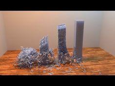 Dominoes Dominos And Marble Runs Pinterest - Video dominoes falling reverse simply mesmerizing