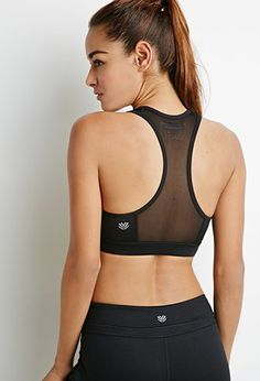High Impact - Mesh-Back Sports Bra | Forever 21 - 2049257230