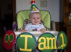 """Photo 21 of The Very Hungry Caterpillar / Birthday """"Tyler's Birthday! Baby 1st Birthday, First Birthday Parties, Birthday Ideas, Hungry Caterpillar Party, For Elise, Twins 1st Birthdays, Eric Carle, Party Ideas, Babies"""