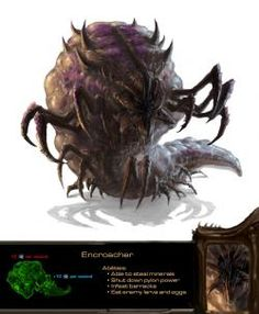 Here's a Zerg fan concept for the game StarCraft 2.
