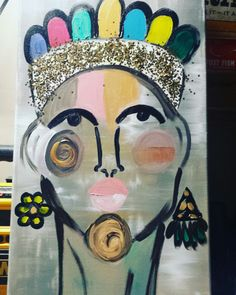 """16x20 $100 """"The Royal Wife"""""""