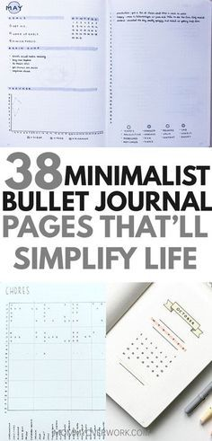 Want a MINIMALIST BULLET JOURNAL layout for inspiration? If your goal is to do more with less, then check out these stunning ideas. You'll find all kinds of collection pages include key, index, budget Bullet Journal Tracker, Bullet Journal Spreads, Bullet Journal How To Start A, Bullet Journal Inspo, Bullet Journal Ideas Pages, Journal Pages, Bullet Journals, Bullet Journal Workout, Brain Dump Bullet Journal