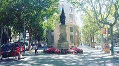 Monument a Rafael Casanova #Barcelona