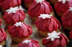 Rossi come il nostro logo questi #cupcakes di California Bakery per Vidas #cb4vidas