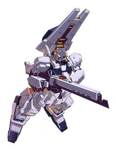 Gundam (Hazel Custom) w/Sniper Unit - Titans Test Team (Manga: Advance of Zeta: The Flag of Titans. Japanese Robot, Japanese Anime Series, Transformers, Mecha Suit, Gundam Seed, Robot Concept Art, Gundam Art, Custom Gundam, Super Robot
