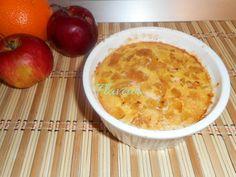 BUDINCA DE COUSCOUS CU NECTARINA - Flaveur Macaroni And Cheese, Ethnic Recipes, Couscous, Puddings, Food, Bebe, Mac And Cheese, Custard Pudding, Essen