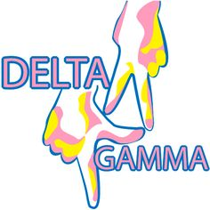 delta gamma apparel greek streak