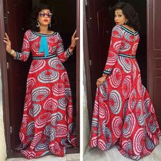 African fashion is available in a wide range of style and design. Whether it is men African fashion or women African fashion, you will notice. Long African Dresses, African Print Dresses, African Fashion Dresses, Fashion Outfits, African Prints, Fashion Styles, Fashion Ideas, African Clothes, Women's Fashion