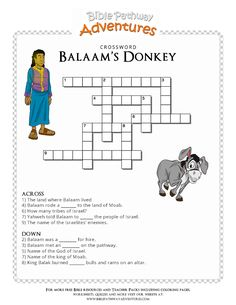 18 Best Bible Balaam And The Talking Donkey Images In