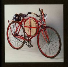 _ #firefighters bicycle. Very cool
