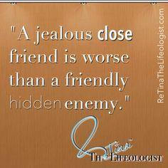quotes about jealous friends - Google pretraživanje