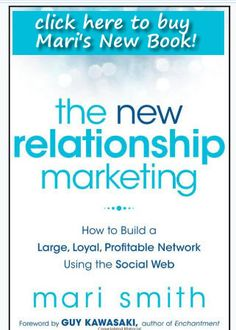 """the new relationship marketing""    Mari Smith is a relationship marketing specialist for over 10 years and   always had a passion for people.    This book is a MUST read!"